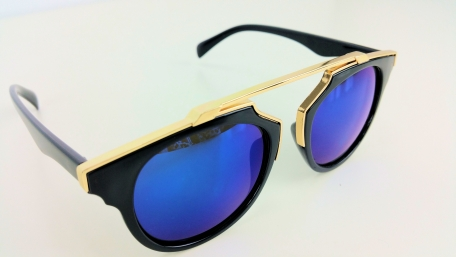 Cat Eye Sonnenbrille Las Vegas Blue